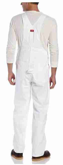 dickies salopette blanche